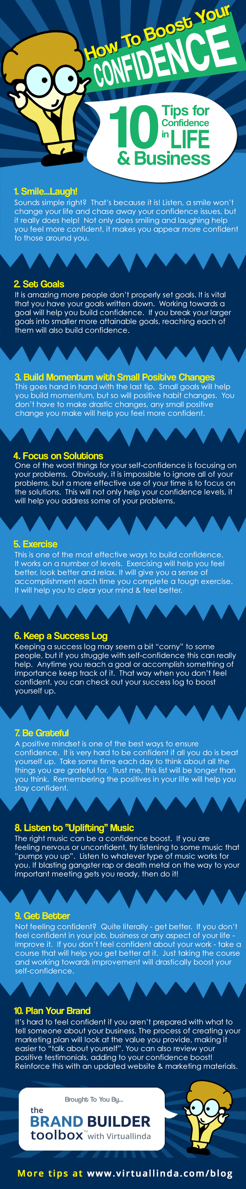 10 Tips for Confidence in Life & Business